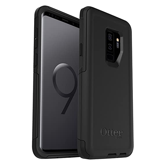 newest 6b60f 8e742 OtterBox COMMUTER SERIES Case for Samsung Galaxy S9+ - Retail Packaging -  BLACK