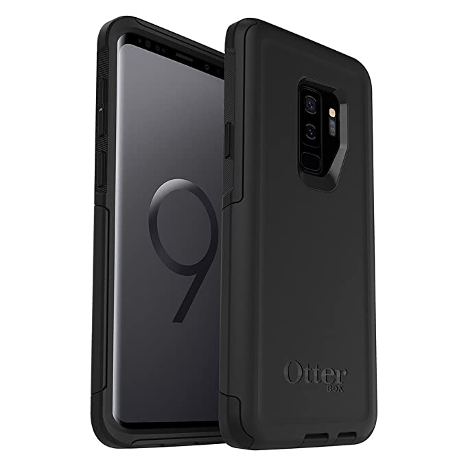 the latest 46482 e62cc OtterBox Commuter Series Case for Samsung Galaxy S9+ - Frustration Free  Packaging - Black
