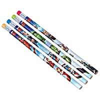 Amscan 398190 Marvel Epic Avengers Pencils, Party Favor, Multicolor, One Size