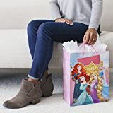 Hallmark Large Birthday Gift Bag with Card and Tissue Paper (Disney Princess)