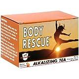 Body Rescue Alkalizing Tea, Apricot, 20 Count