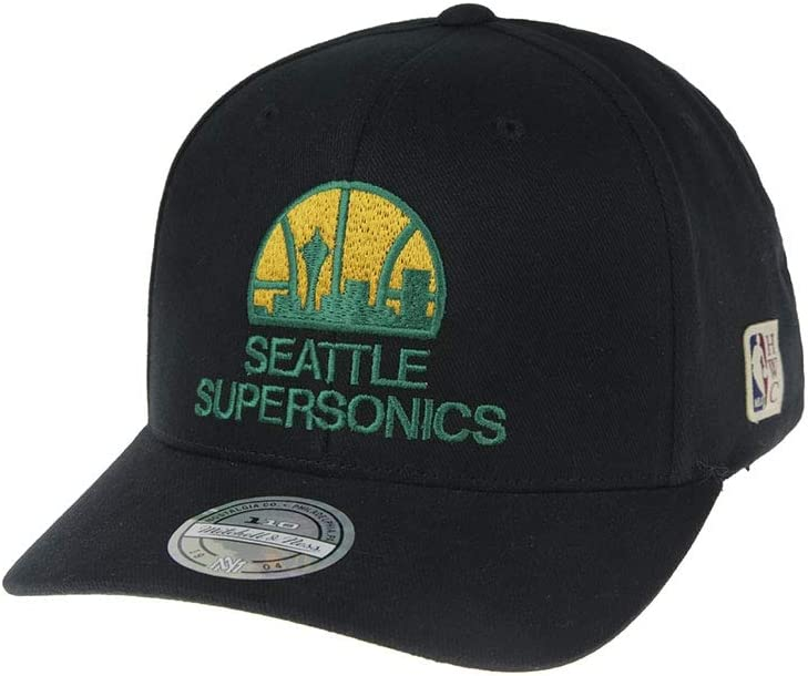 Mitchell & Ness Seattle Supersonics HWC Old School Flexfit - Gorra ...