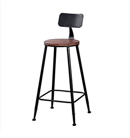Outstanding Amazon Com Vintage Style Bar Stools Kitchen Breakfast Stool Forskolin Free Trial Chair Design Images Forskolin Free Trialorg