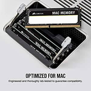 Corsair Apple Certified 16GB (2x8GB) DDR3 1333 MHz PC3 10666 Laptop Memory (CMSA16GX3M2A1333C9)