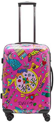 Vorschaubild Packenger One World by Della Koffer 2er-Set M+L, Pink