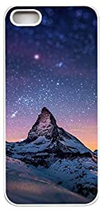 Generic Cervino Night Sky Hard Case for iPhone 5s White