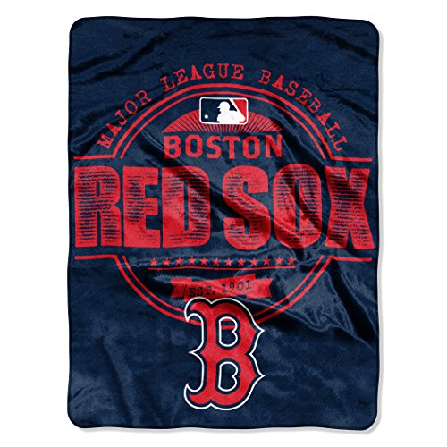 MLB Boston Red Sox Structure Micro Raschel Throw, 46
