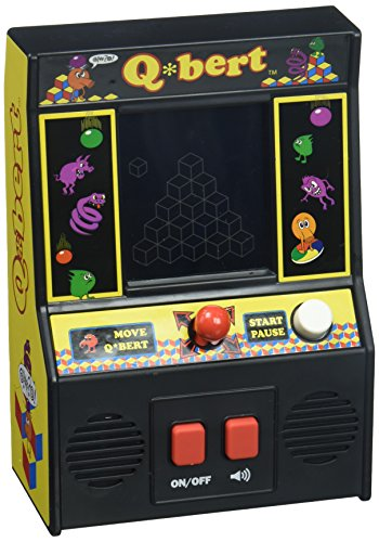 Arcade Classics - Q'Bert Retro Mini Arcade Game ()