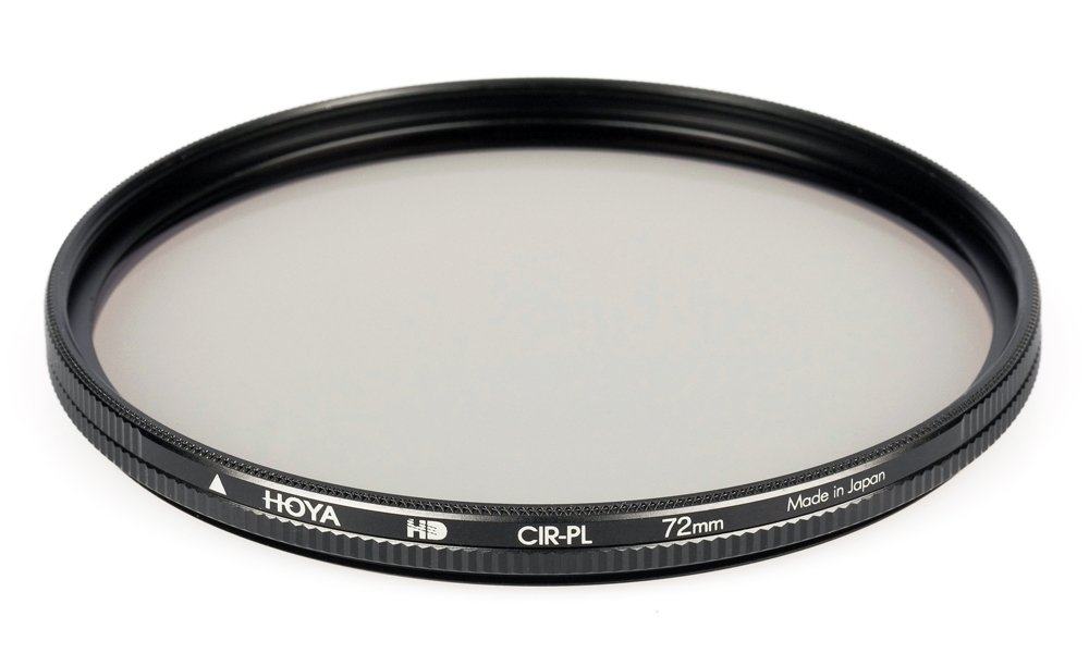 Hoya 72mm Circular Polarizer HD Hardened Glass 8-Layer Multi-Coated Filter by Hoya