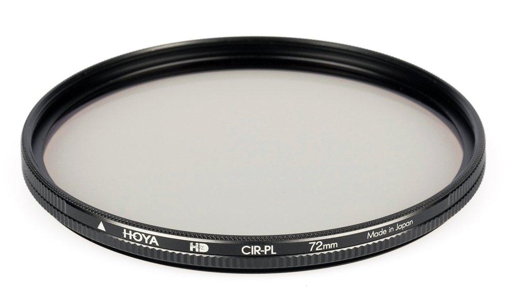 Hoya 72mm Circular Polarizer HD Hardened Glass 8-layer Multi-Coated Filter