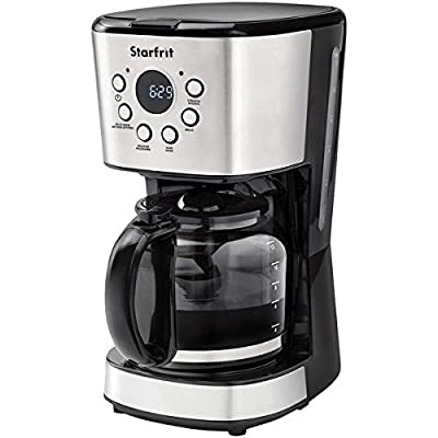 Starfrit(r) 024001-002-0000 12-Cup Drip Coffee Maker Machine by STARFRIT(R)