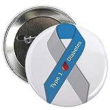 type 1 diabetes pins - CafePress - Type 1 Diabetes Awareness Ribbon 2.25&Quot; Button - 2.25