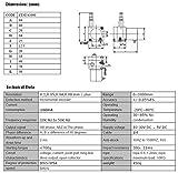 CALT 1 Meter Stroke Linear String Pot Encoder