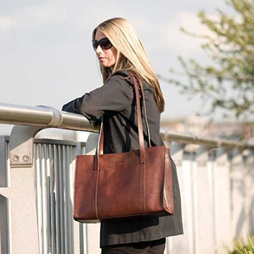 Borse di lusso grande marrone chiaro da donna (Rivara)