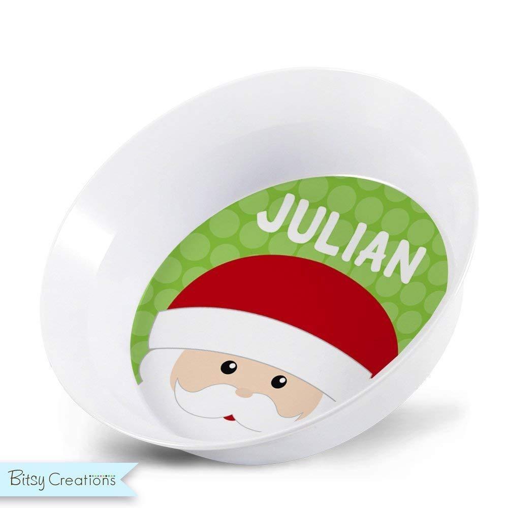 Santa Plate or Bowl for Child