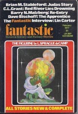 FANTASTIC Sword & Sorcery and Fantasy Stories: February, Feb. 1977