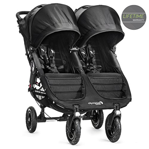 Baby Jogger 2014 City Mini GT Double Stroller, Black Discontinued by Manufacturer