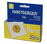 Lindner 8331043 HARTBERGER®-Coin holders-pack of 1000