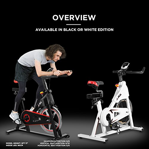 JLL IC300 Indoor Exercise Bike 2018, Cardio Workout, 18KG