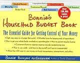 Bonnie's Household Budget Book, Bonnie Runyan McCullough, 0312280319