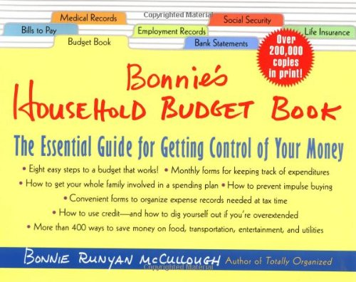 Bonnie's Household Budget Book: The Essential Guide for Getting ...