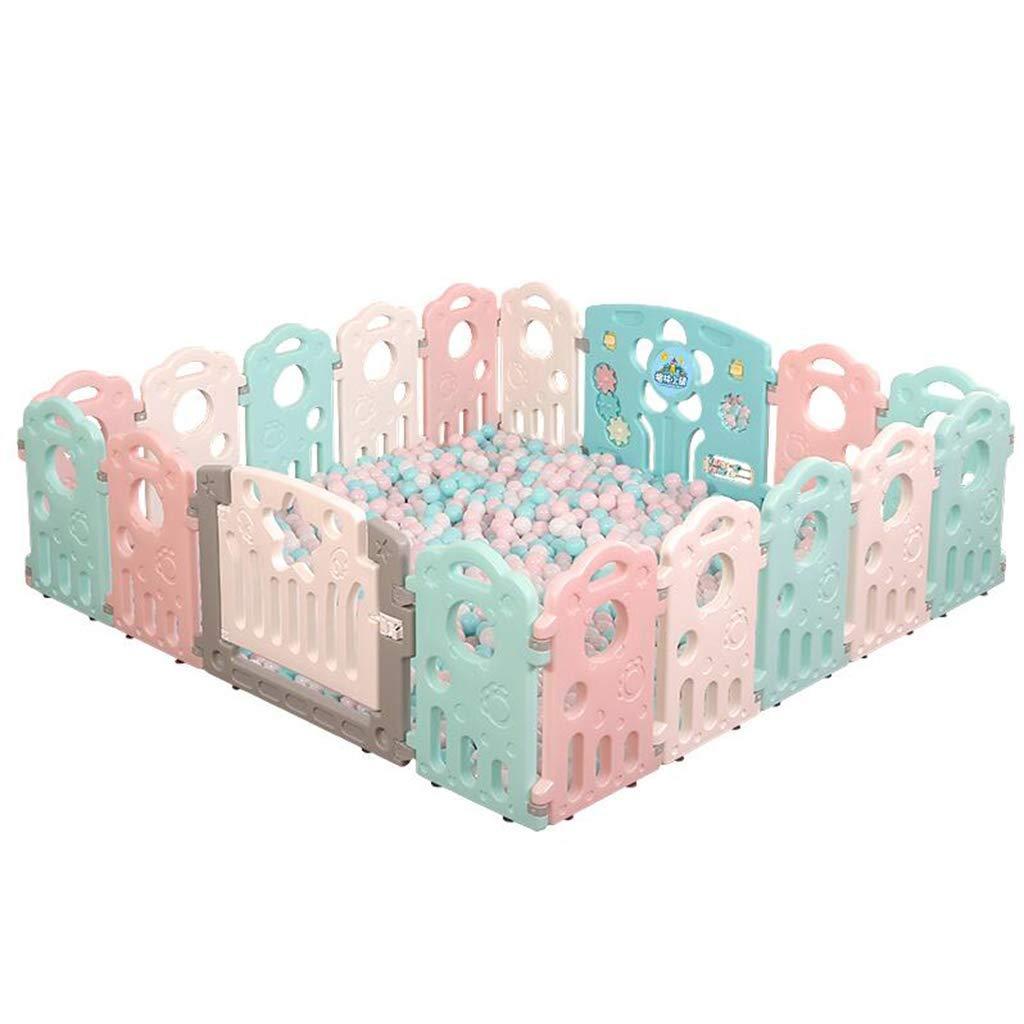 赤ちゃんのベビーサークル子供の遊び場屋内赤ちゃん幼児安全柵赤ちゃんホームクロールマットフェンス強くて丈夫/から作られた   B07V8GHLW5