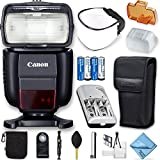 Canon Speedlite 430EX III-RT Flash with Deluxe Photo Starter Kit Bundle