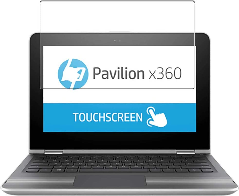 Puccy Tempered Glass Screen Protector Film, compatible with HP Pavilion x360 m1-u000 / u001dx 11.6