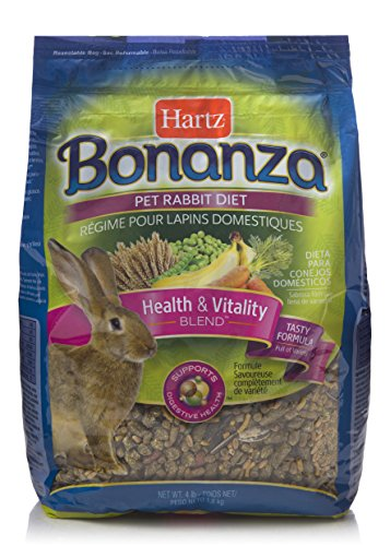 (Hartz Bonanza Health & Vitality Blend Pet Rabbit Food - 4Lb)