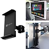 "VENA HEADTAB [Easy-Slide] Universal Headrest Back Seat Car Mount for iPad, Tablets, Cell Phones and GPS Devices - Adjustable for devices 5.0"" - 11.0"""
