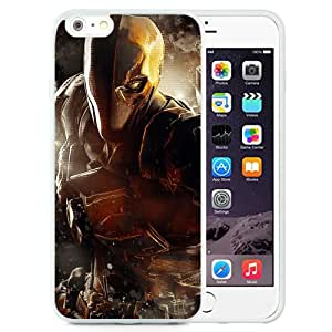 6 Plus TPU case,Batman Arkham Origins Deathstroke Warner Bros Games Montreal Dc Comics Arkham Origins Video Games White iPhone 6 Plus TPU cover
