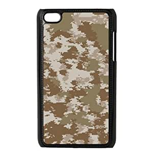 ALICASE Diy Phone Case Camouflage For Ipod Touch 4 [Pattern-1] hjbrhga1544