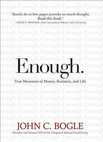 Pdf Memoirs Enough: True Measures of Money, Business, and Life