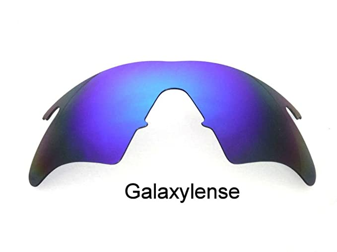 Amazon.com: Galaxy Replacement Lenses For Oakley M Frame Heater Blue ...