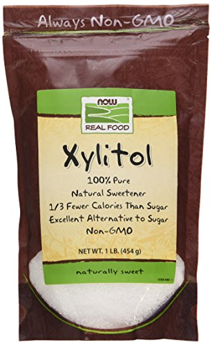 NOW Foods Xylitol Natural Sweetener Powder - 1 lb