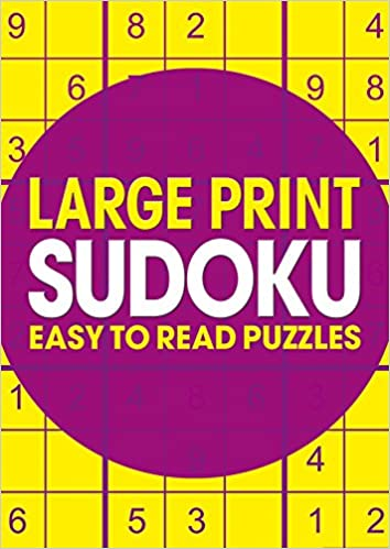 Large Print Sudoku Arcturus Publishing 9781784282707 Amazon