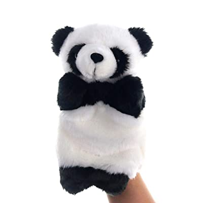 Kekailu Hand Puppet Toy,Cute Panda Animal Hand Puppet Plush Doll Kindergarten Children Educational Toy: Home & Kitchen