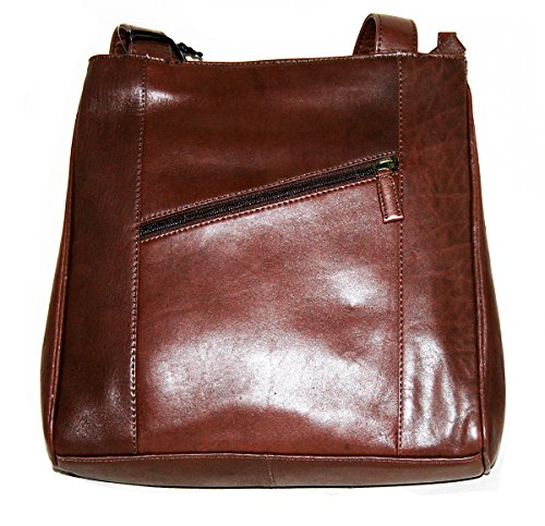 Diamond Line , Sac pour femme à porter à l'épaule Marron marron 28 x 27 x 10 cm