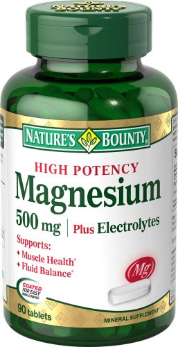 Natures Bounty Magnesium Electrolytes Tablets