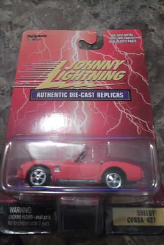 (Johnny Lightning 1:64 Shelby Cobra 427 Authentic Die-Cast Replicas)