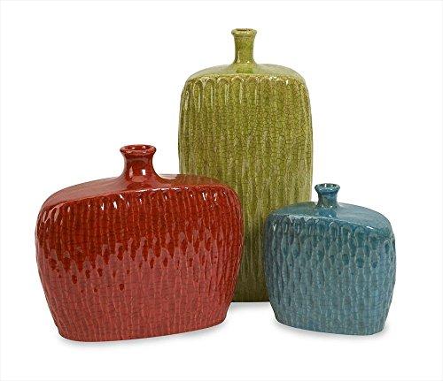 IMAX 50313-3 Herrera Vases, Set of 3