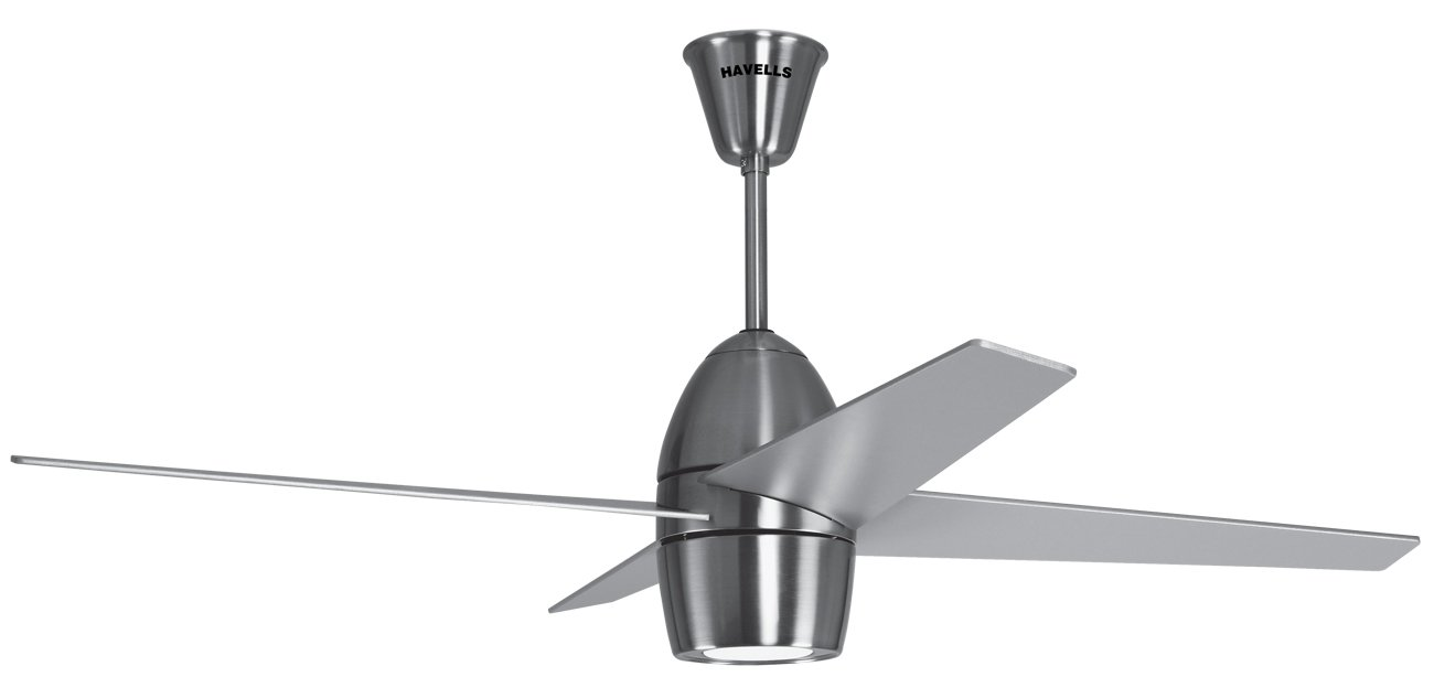 Buy havells veneto 1320mm premium underlight ceiling fan brushed buy havells veneto 1320mm premium underlight ceiling fan brushed nickel online at low prices in india amazon mozeypictures Image collections