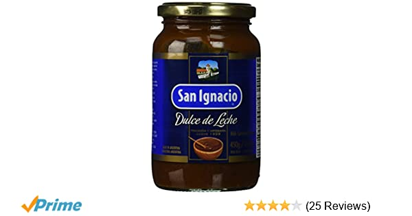 Amazon.com : San Ignacio dulce de leche Milk Caramel Spread, 15.87 ounce : Gourmet Food : Grocery & Gourmet Food