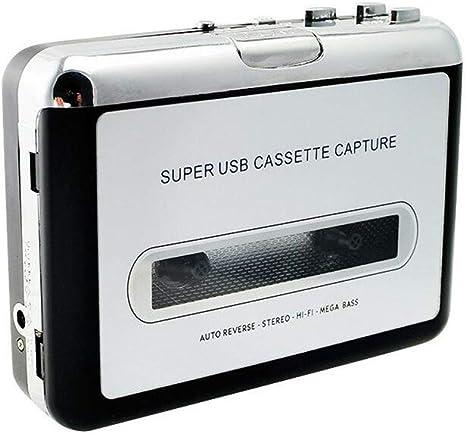 Guangcailun Usb Kassetten To Mp3 Cd Konverter Sicherungs O Musik Spieler Beweglicher Kassettenspieler Küche Haushalt