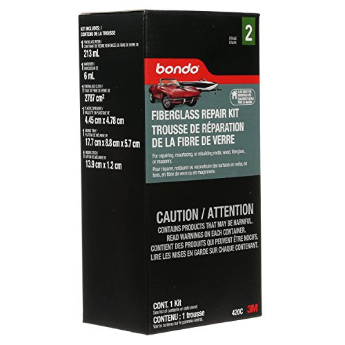Bondo 420 Fiberglass Repair Kit, 4.5d-1 Pints