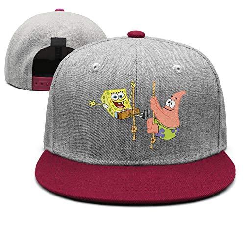 Man Patrick-Star-Spongebob-Squarepants- Snapback hat Trucker Hats Baseball