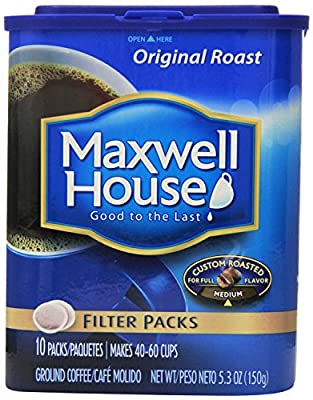 Maxwell House Filter Packs from Maxwell House