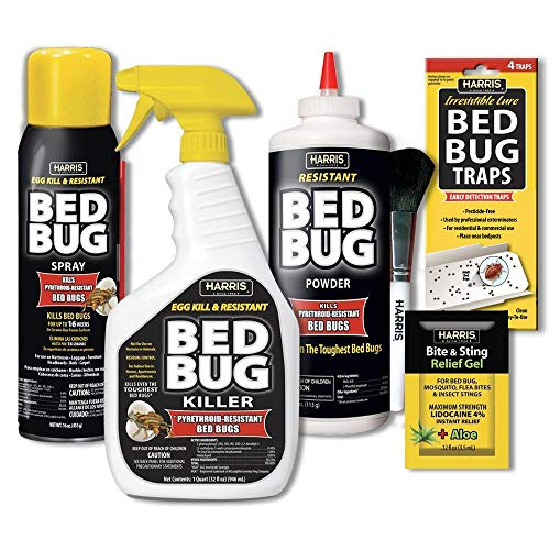 Harris Bed Bug Killer Value Bundle Kit Featured Image
