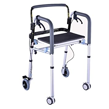 Silla de ruedas Rampas Caminador Caminador Estándar Caminador Plegable Caminata Ajustable Equipo De Ayuda Ruedas con