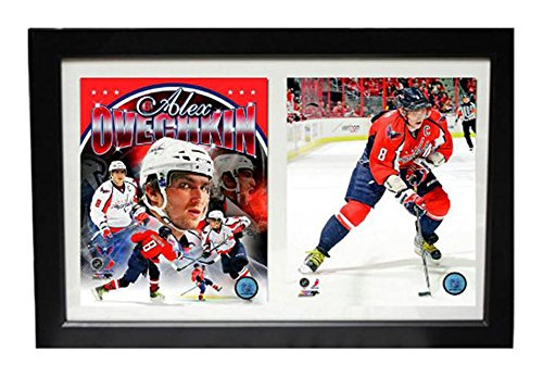 Encore Select 123 14 Nhl Washington Capitals Double Frame Alexander Ovechkin Print  12 Inch By 18 Inch